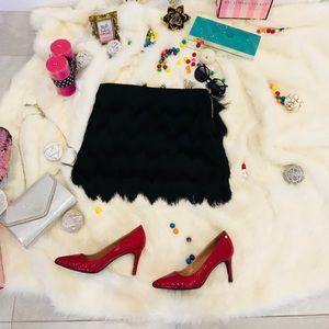 NWT H&M Black short skirt